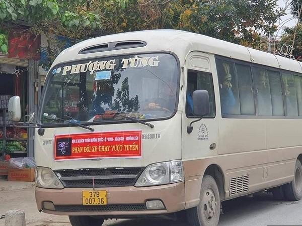 Nghệ An: Hàng loạt xe khách 'bãi bến' phản đối xe dù vượt tuyến ảnh 2
