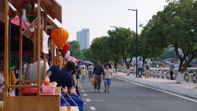 Vì sao phố đi bộ Trịnh Công Sơn chưa hút khách? ảnh 4