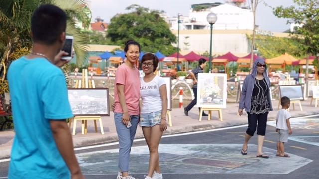 Vì sao phố đi bộ Trịnh Công Sơn chưa hút khách? ảnh 3
