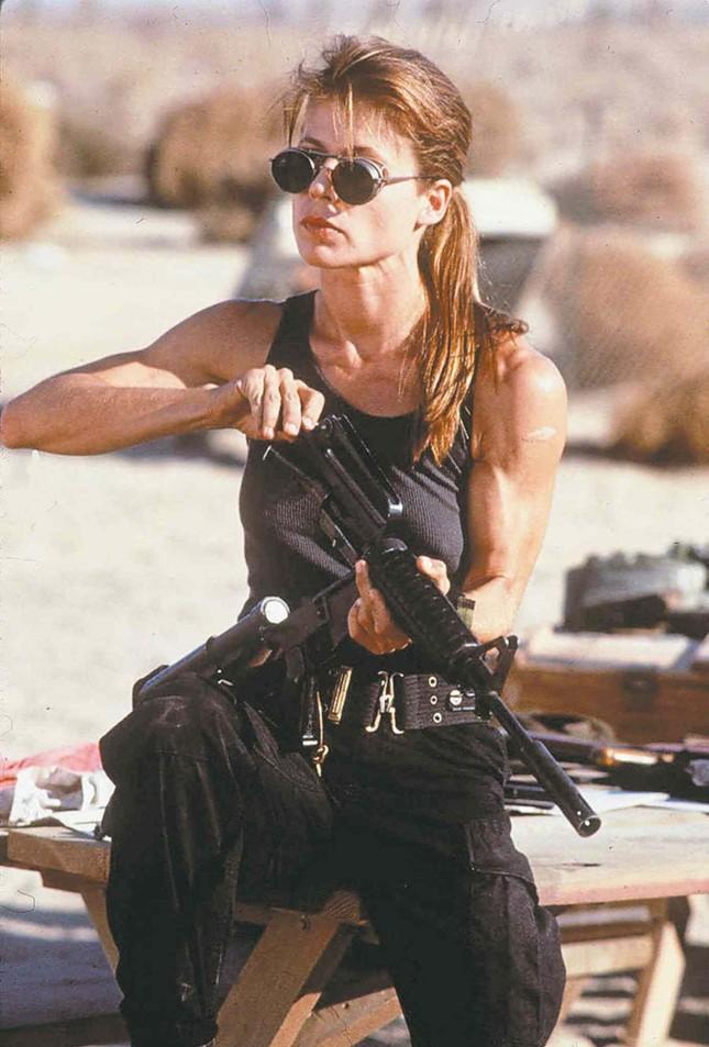 Nhan sắc Sarah Connor biến đổi hơn 30 năm trong 'Kẻ hủy diệt' ảnh 1