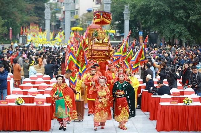 Màn sử thi về vua Quang Trung tưng bừng khai hội Gò Đống Đa ảnh 1