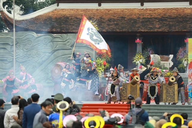 Màn sử thi về vua Quang Trung tưng bừng khai hội Gò Đống Đa ảnh 8