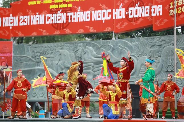 Màn sử thi về vua Quang Trung tưng bừng khai hội Gò Đống Đa ảnh 6