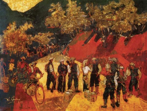 Nguyên Chủ tịch Hội Mỹ thuật Việt Nam, họa sĩ Trần Khánh Chương qua đời ở tuổi 77 ảnh 1