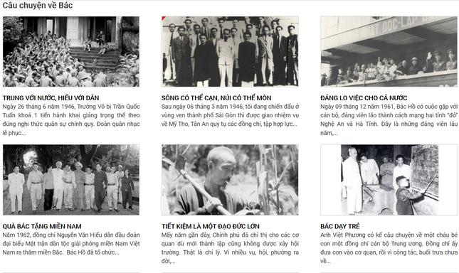 Triển lãm trực tuyến hơn 700 xuất bản phẩm về Chủ tịch Hồ Chí Minh ảnh 2