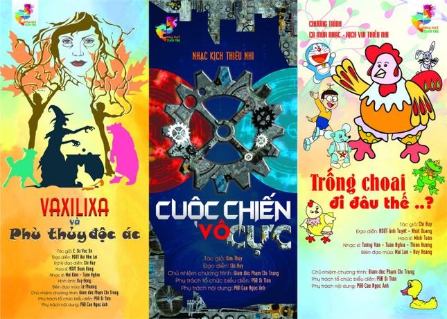 NSƯT Chí Trung: Đau đầu giữ chân diễn viên trẻ, Vân Dung hơn 30 năm chưa biên chế ảnh 3
