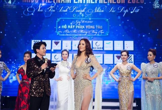 Thanh tra Bộ Văn hoá vào cuộc vụ lùm xùm Hoa hậu Doanh nhân sắc đẹp Việt ảnh 1