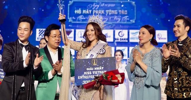 Thanh tra Bộ Văn hóa xử phạt cuộc thi HH Doanh nhân sắc đẹp Việt ảnh 1