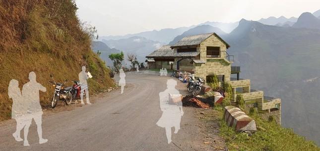 Hà Giang kiểm tra thực tế, công trình Panorama Mã Pì Lèng cải tạo vẫn sai ảnh 2