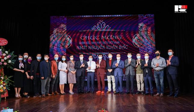Công bố quyết định bổ nhiệm NSƯT Xuân Bắc giữ chức Giám đốc ảnh 1