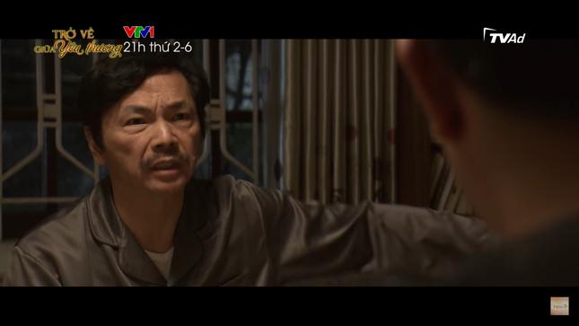 Tập 2 'Trở về giữa yêu thương' phần 2, NSND Trung Anh xuất hiện thay vai NSND Hoàng Dũng ảnh 2