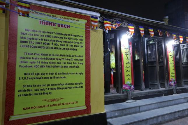 Chùa Phúc Khánh đóng cửa làm lễ cầu an trực tuyến ảnh 3