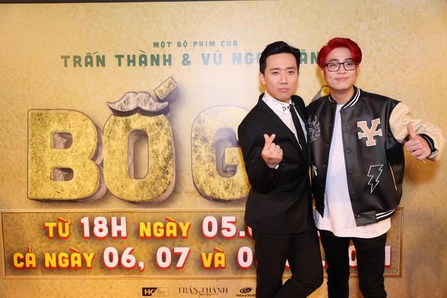 Hà Hồ-Kim Lý cùng dàn sao Việt đình đám ủng hộ 'Bố Già' Trần Thành ảnh 10
