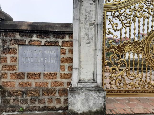 Sở VH yêu cầu báo cáo về thay cổng biệt thự tại di tích quốc gia đặc biệt 500 tuổi ảnh 1