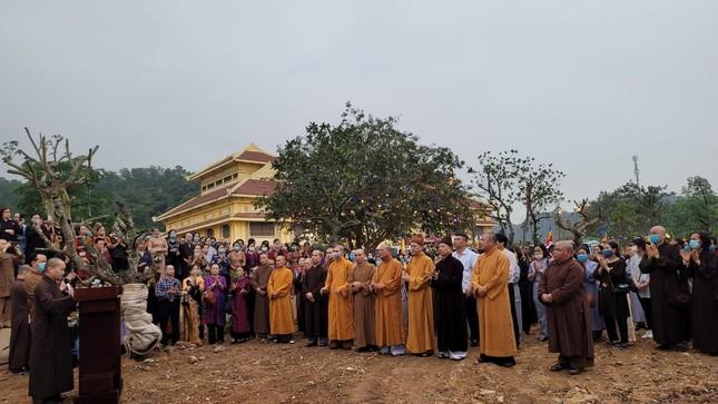 Hàng ngàn cây xanh tại vườn 'lộc uyển' ở Học viện Phật giáo ảnh 1