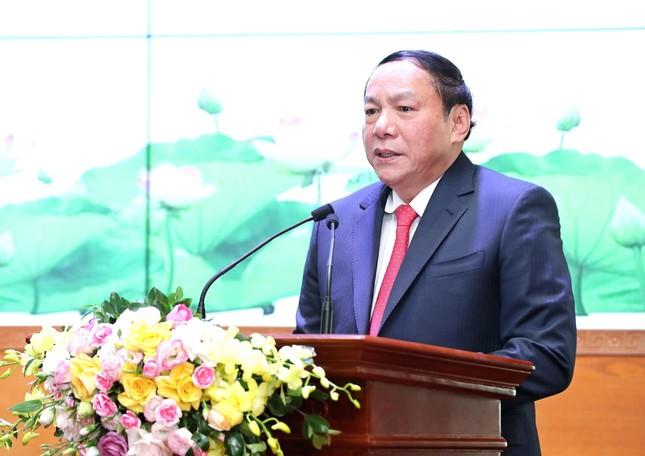 Bàn giao nhiệm vụ Bộ trưởng Bộ Văn hóa, Thể thao và Du lịch ảnh 3