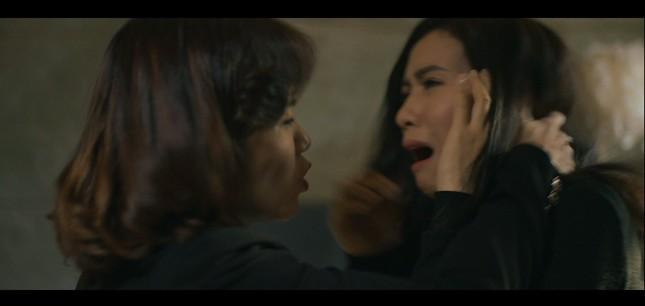Hậu trường Quỳnh Kool bị đánh thật trong cảnh đánh ghen tàn bạo của 'Hãy nói lời yêu' ảnh 3