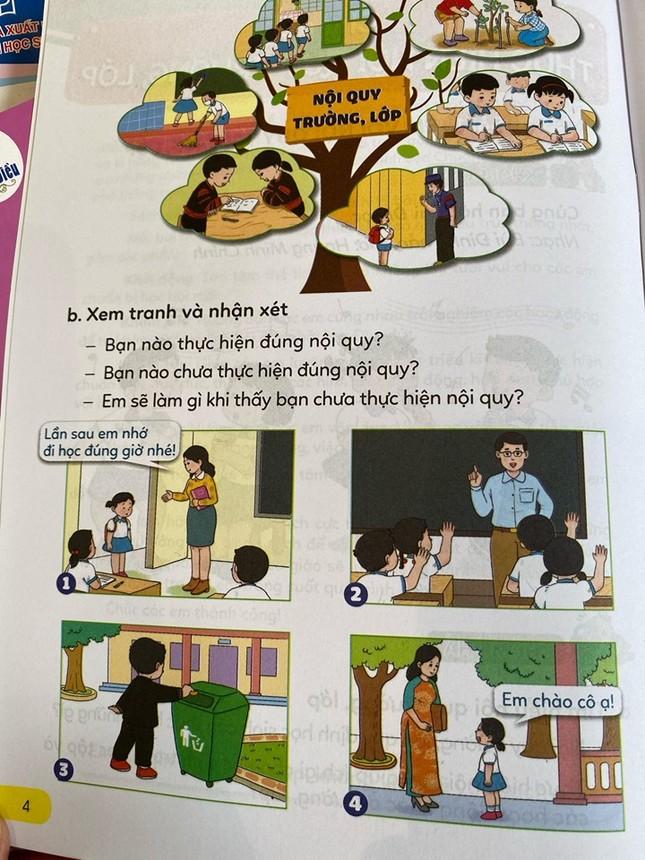 Hé lộ những trang đầu tiên trong bộ sách giáo khoa mới ảnh 5