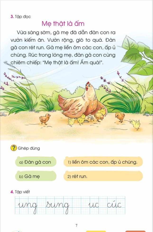 SGK Tiếng Việt 1 Cánh Diều được điều chỉnh như thế nào? ảnh 2