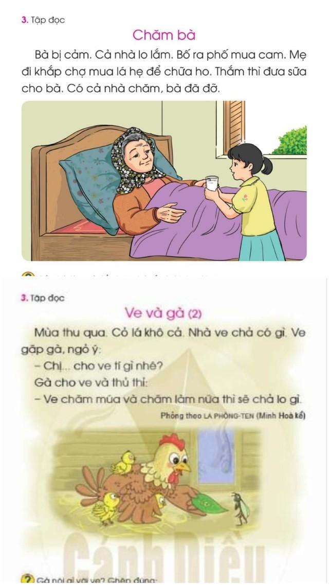 SGK Tiếng Việt 1 Cánh Diều được điều chỉnh như thế nào? ảnh 3