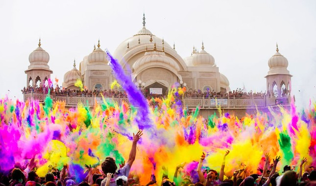 Chùm ảnh về những lễ hội độc đáo và nhiều màu sắc nhất thế giới ảnh 2