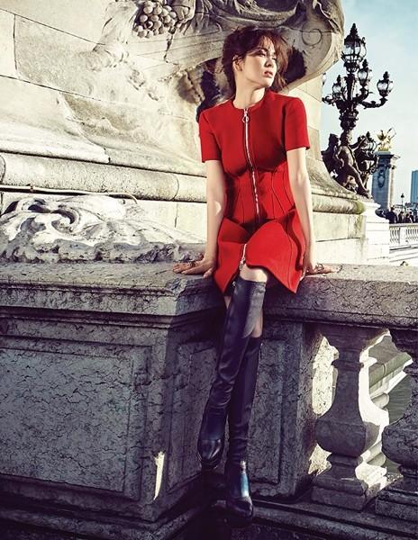 Song Hye Kyo sành điệu, đẳng cấp giữa Paris ảnh 4