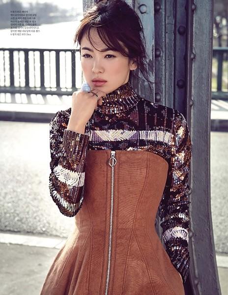 Song Hye Kyo sành điệu, đẳng cấp giữa Paris ảnh 3