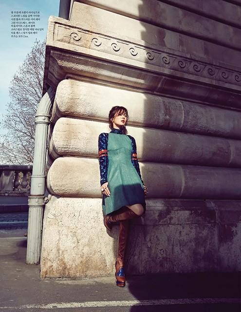 Song Hye Kyo sành điệu, đẳng cấp giữa Paris ảnh 8