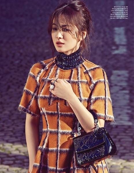 Song Hye Kyo sành điệu, đẳng cấp giữa Paris ảnh 2
