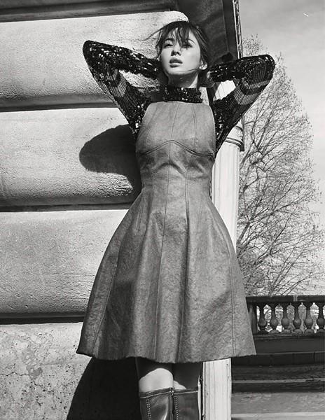 Song Hye Kyo sành điệu, đẳng cấp giữa Paris ảnh 7