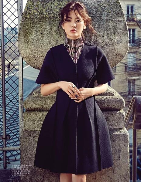 Song Hye Kyo sành điệu, đẳng cấp giữa Paris ảnh 10