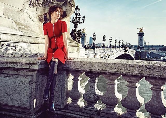 Song Hye Kyo sành điệu, đẳng cấp giữa Paris ảnh 5