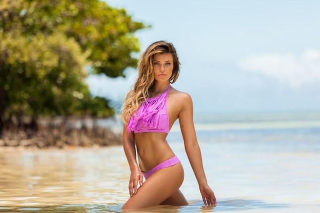 Ngắm dáng vóc đẹp ngất ngây của mẫu bikini người Mỹ ảnh 28