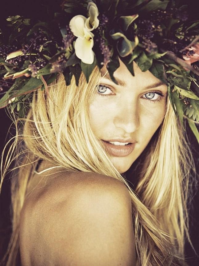 Mê mẩn vẻ đẹp thiên thần của Candice Swanepoel ảnh 1