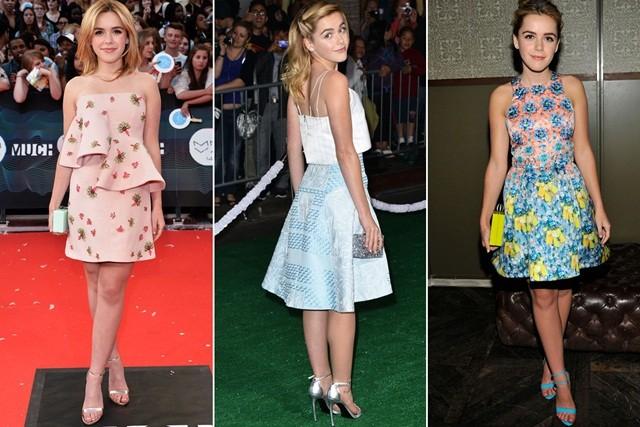 Gout thời trang 'nhìn là mê' của nữ diễn viên 16 tuổi ảnh 1