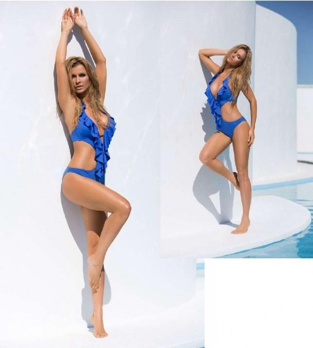 Joanna Krupa tiết lộ bí quyết giữ dáng chuẩn, eo thon ảnh 5