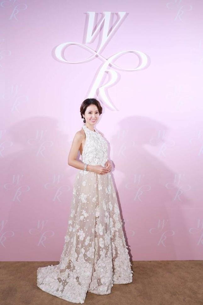 Vợ chồng Lâm Tâm Như nồng nàn tình cảm trong tiệc cưới ở Đài Bắc ảnh 3