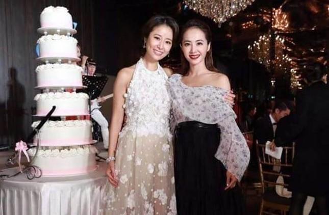 Vợ chồng Lâm Tâm Như nồng nàn tình cảm trong tiệc cưới ở Đài Bắc ảnh 7