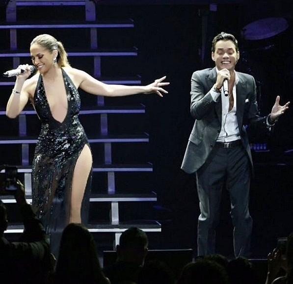 Jennifer Lopez quyến rũ mê hồn khi hòa giọng cùng chồng cũ ảnh 1