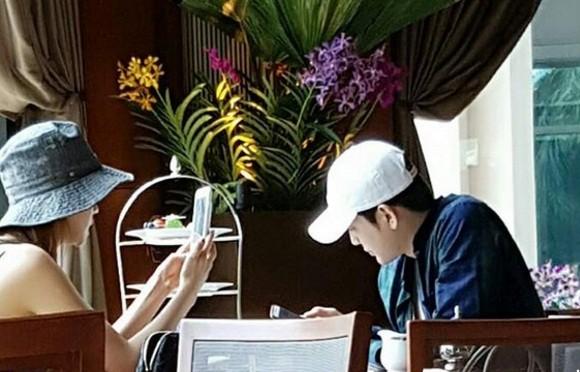 Nam ca sĩ Se7en và mỹ nhân Lee Da Hae bất ngờ hẹn hò ảnh 1