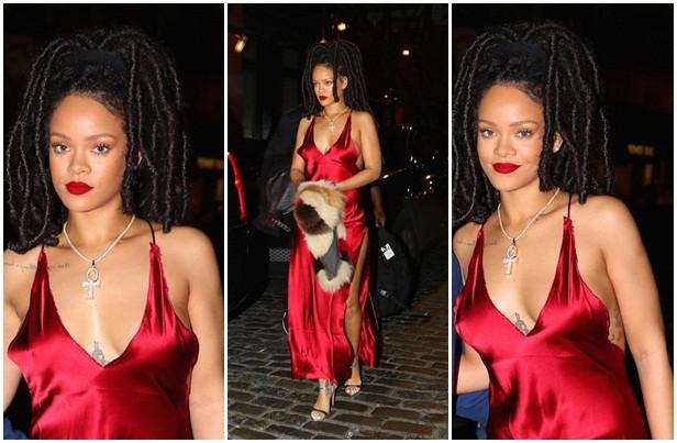 Paris Hilton, Rihanna diện thời trang gợi cảm nhất tuần qua ảnh 1