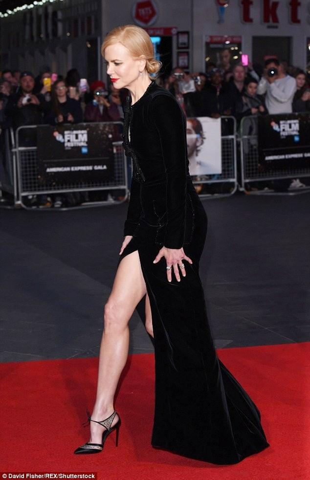 Ngỡ ngàng sắc vóc trẻ đẹp rực rỡ của Nicole Kidman ảnh 4
