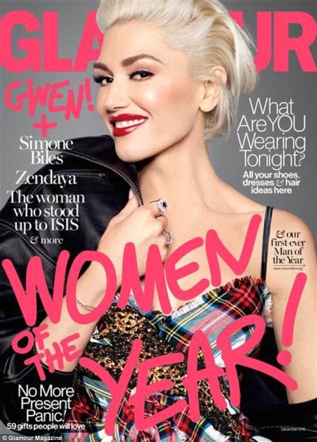 Gwen Stefani lưng trần quyến rũ trong tiệc của Glamour ảnh 3