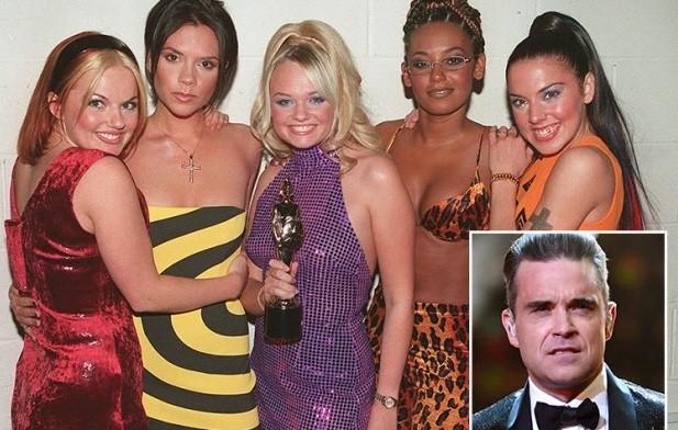 Hé lộ chuyện tình ái của Robbie Williams với các cô nàng Spice Girls ảnh 2