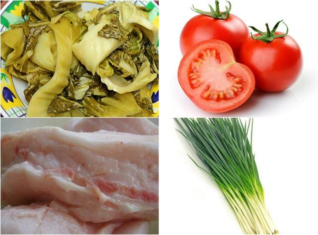 Dưa chua xào tóp mỡ: Món ngon dễ làm, đưa cơm ngày lạnh ảnh 1