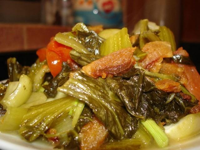 Dưa chua xào tóp mỡ: Món ngon dễ làm, đưa cơm ngày lạnh ảnh 3