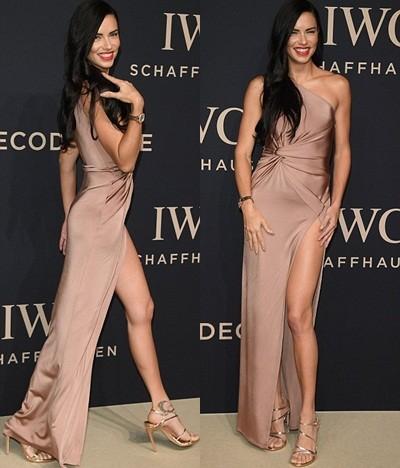 Thiên thần nội y Brazil siêu gợi cảm với váy xẻ cao ảnh 3