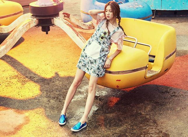 Lee Sung Kyung – 9x gợi cảm cá tính của showbiz Hàn ảnh 1