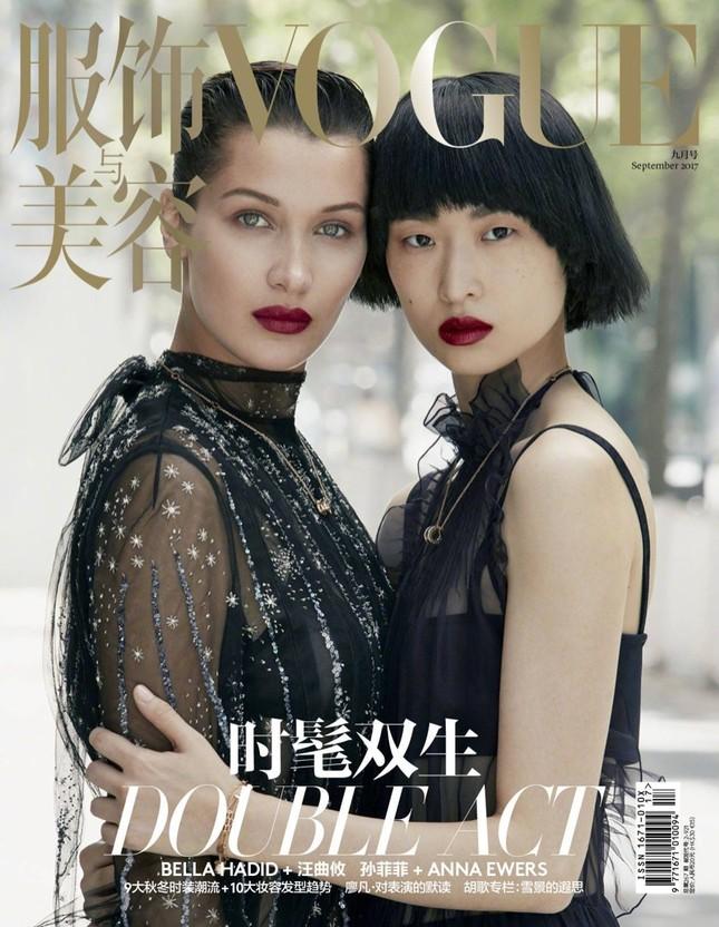 'Chân dài' Bella Hadid quá đỗi gợi cảm trên hàng loạt ấn phẩm Vogue ảnh 17