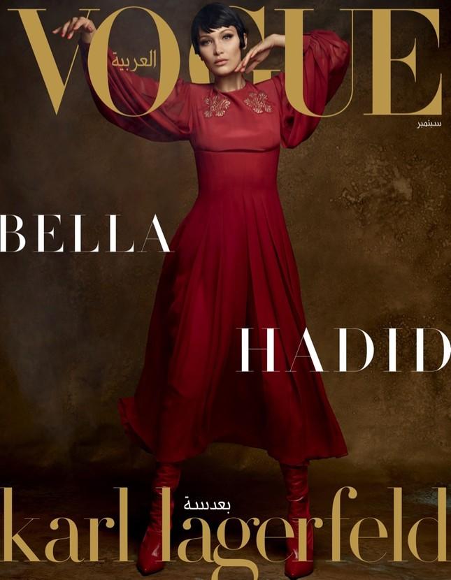 'Chân dài' Bella Hadid quá đỗi gợi cảm trên hàng loạt ấn phẩm Vogue ảnh 7